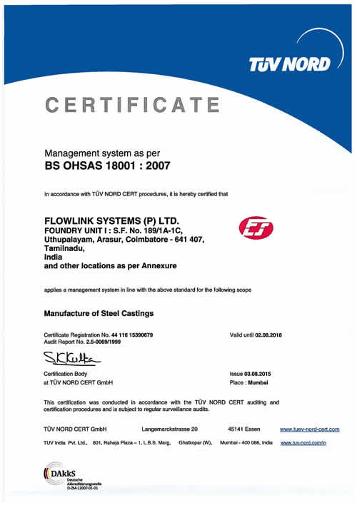 Flow Link Systems P LTD Coimbatore, India   Supplier Data